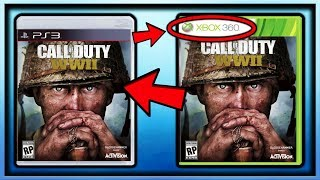 How to play call of duty ww2 on the ps3 & xbox 360... (EWWW)