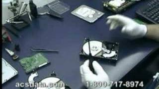 Hard Drive Data Recovery - Western Digital Head Swap
