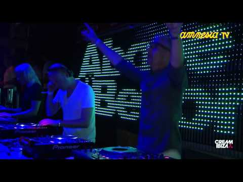 Above & Beyond playing at Cream Amnesia Ibiza 2011
