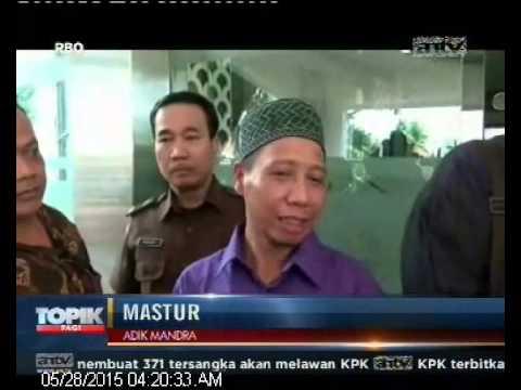 [ANTV] TOPIK Mastur Adik Mandra Diperiksa, Kasus Korupsi Program TVRI