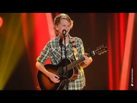 Fletcher Sings Flying With The King | The Voice Kids Australia 2014 video