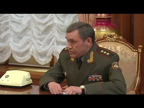 Putin appoints new head of Russia's armed forces