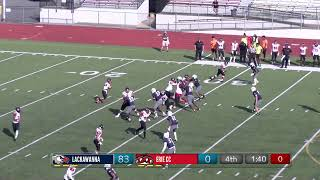Lackawanna College Football vs Erie Community College