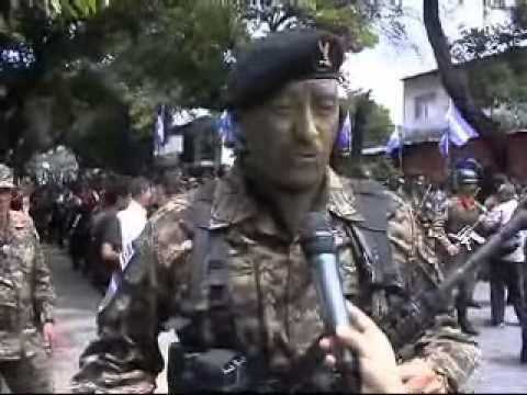 17 SEP 2012 DESFILE MILITAR 15 SEPTIEMBRE   FUERZA ARMADA DE EL SALVADOR