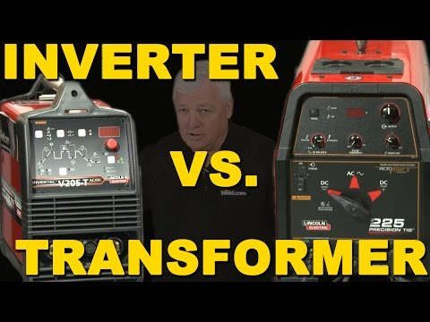 TIG Welding Inverter Versus Transformer