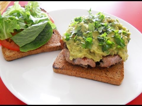 Paleo Turkey Burger With Avocado Recipe