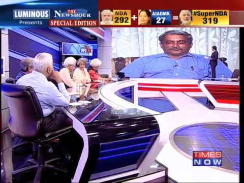 The Newshour Debate: Super NDA being formed? - Part 1 (14th May 2014)