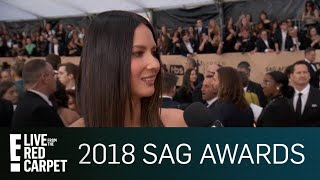 Olivia Munn Fangirled Over Meeting Which Celebrities?! | E! Live from the Red Carpet