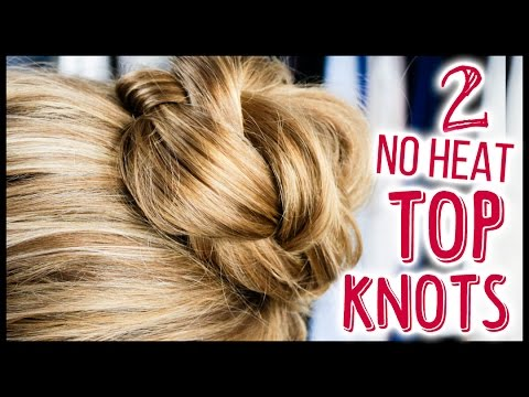 2 Easy Messy Buns in Under 5 Minutes! ♥ All Things Hair