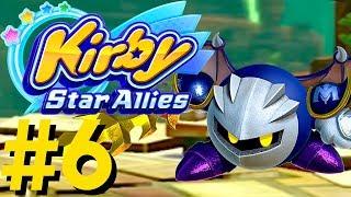 Kirby Star Allies - VS Meta Knight! Nature's Navel, Duplex Dream, & Sacred Square