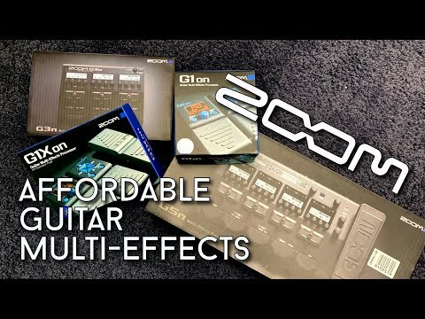 Zoom G-Series Multieffects with BIG GIVEAWAY !!!