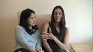 Sheetal Sheth / Lynn Chen YES, WE'RE OPEN Interview.flv