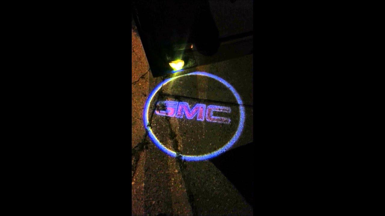 W Logo Car >> GMC Courtesy Door Lights - YouTube