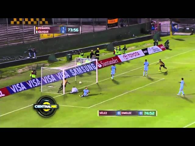 Pearol 3 - 0 Deportes Iquique Copa Libertadores 2013