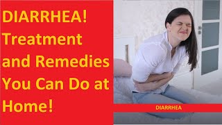 DIARRHEA TREATMENT: What Food to Eat and Avoid!