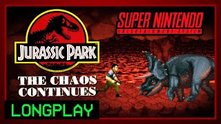 Jurassic Park 2: The Chaos Continues | SNES Longplay [60 fps]