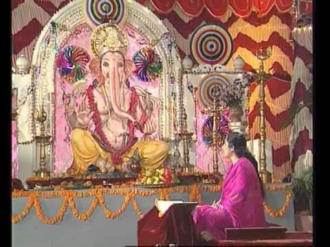 Sukh Karta Dukh Harta By Anuradha Paudwal I Ganesh Mantra