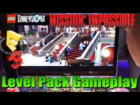 LEGO Dimensions - Mission Impossible [Level Pack Gameplay] - E3 2016