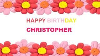 Christopher   Birthday Postcards & Postales - Happy Birthday
