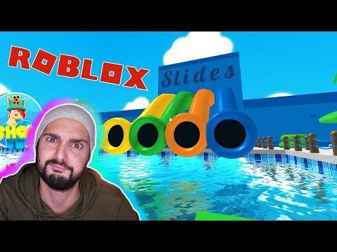 Roblox: AUS WASSERPARK ENTKOMMEN! Böser Bademeister will alle gefangen halten! Escape Waterpark Obby