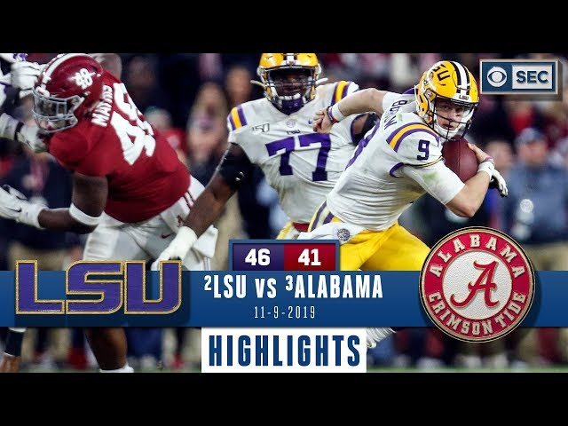 LSU vs. Alabama Highlights | Tigers take down Tide in INSTANT CLASSIC | CBS Sports thumbnail