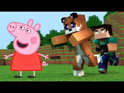 Minecraft - EM BUSCA DA PEPPA PIG [42] Meu Amável Mundo!