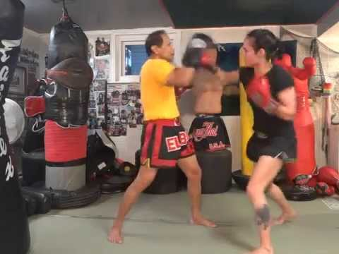 Blocks and 5 Punch Combo - Master K Muay Thai Image 1