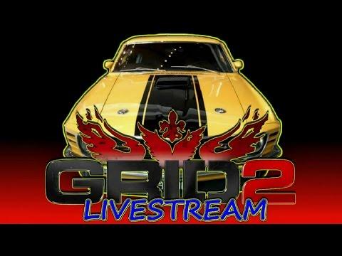 GRID 2 - LIVESTREAM #46 - BARBEIRAGEM COM A TGP