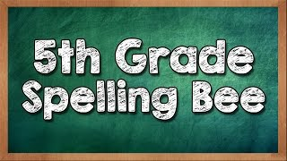 Can You Win a 5th Grade Spelling Bee? - 90% fail