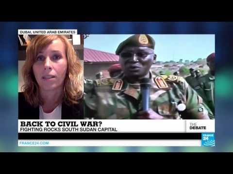 Back to civil war? Fighting rocks South Sudan capital
