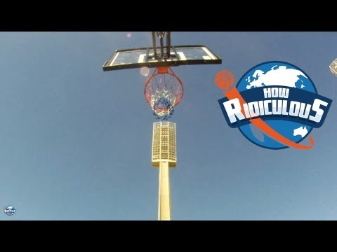 Guinness World Record for Highest Basketball Shot - How Ridiculous