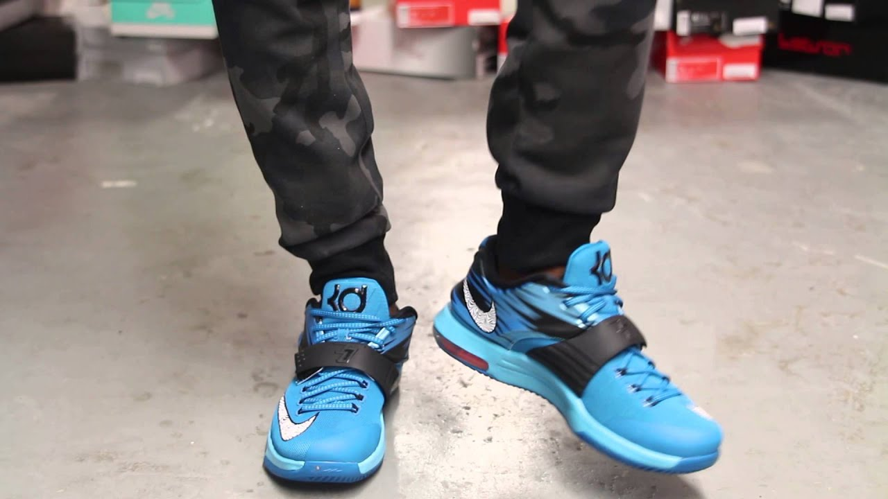 Kd 7 On Feet