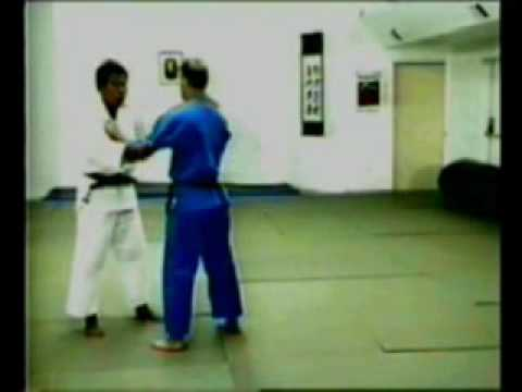 Osoto-guruma judo throw Image 1