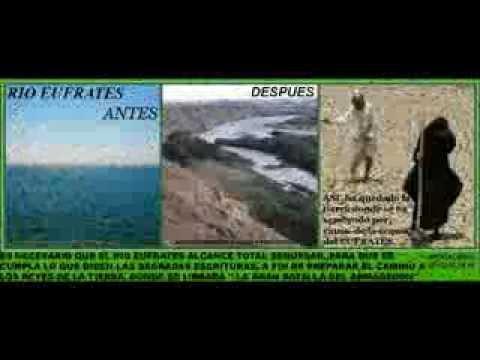 Yiye Ávila: Profecía sobre sequía de el río Eufrates - Apocalipsis 16.12