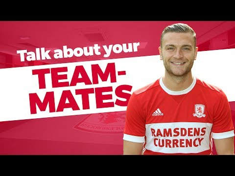 Ben Gibson - Talk about your Team-Mates