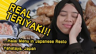 Yahataya Restaurant: Muslim Friendly Chicken Teriyaki just across Kamen Rider Museum, Japan