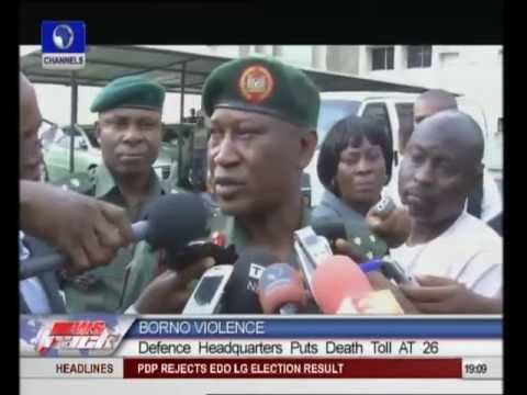 Army Downplays Casualty Figure Of Recent Borno Attack