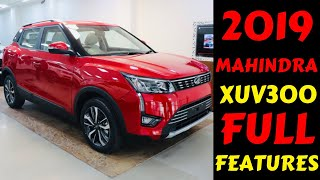 2019 MAHINDRA XUV300 FIRST IMPRESSION | FIRST IN CLASS FEATURES | INTERIOR | Rahul Singh
