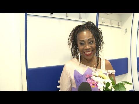 """Шейла Бонник (солистка Boney M.): интервью для ХК """"Сочи"""""""