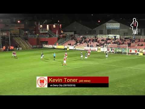 Goal: Kevin Toner (vs Derry City 26/10/2018)