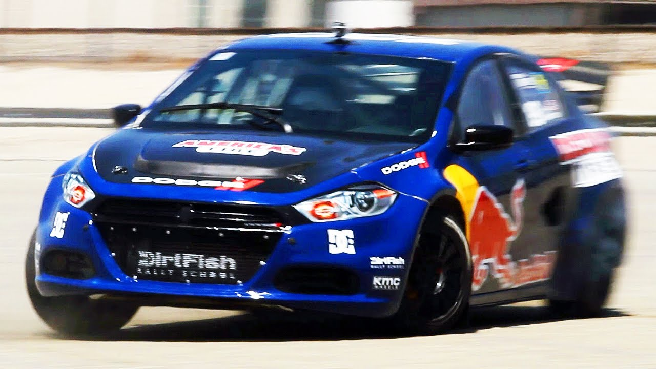 Riding With Travis Pastrana In His Dodge Dart Rally Car