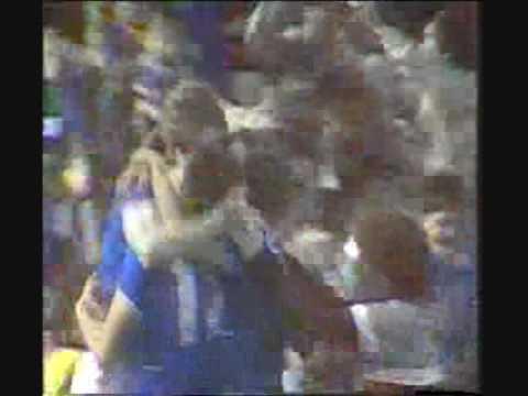 Everton v Southampton FA Cup semi-final 1984