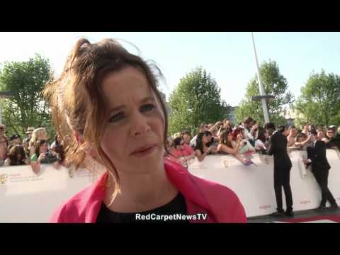 Emily Watson Interview BAFTA Television Awards 2012