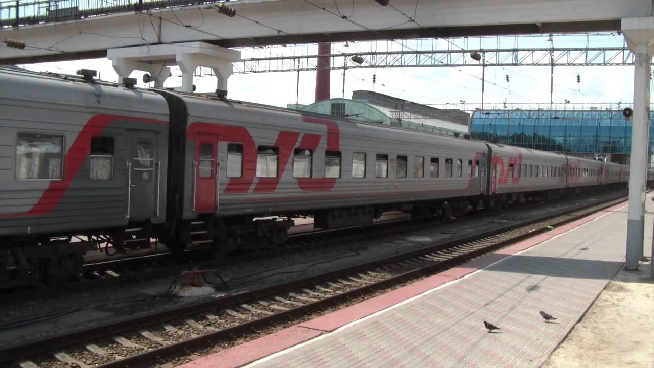 Прибытие ЭП1М-387 + объявления опаздывающих поездов
