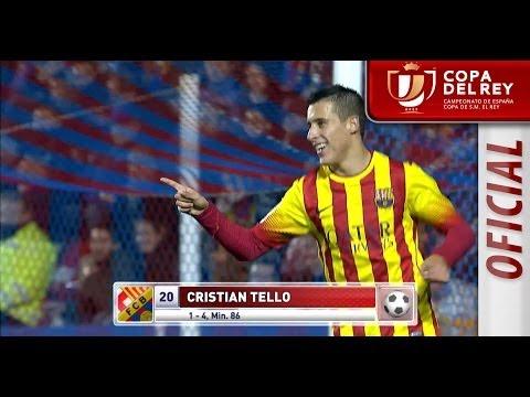 Resumen de Levante UD (1-4) FC Barcelona Copa del Rey
