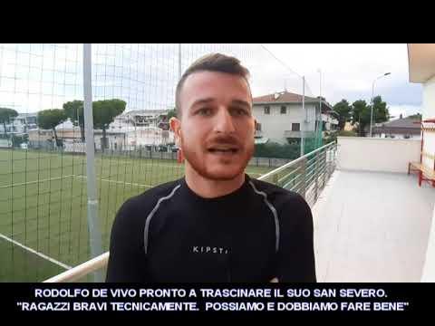 """VIDEO: RODOLFO DE VIVO TRASCINA IL SUO SAN SEVERO """"POSSIAMO FARE BENE"""""""