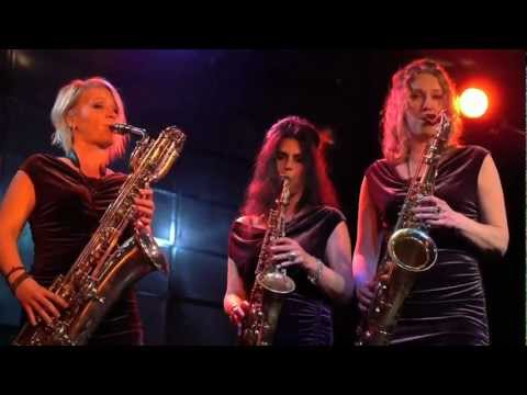 Saxy Sisters. Das Saxophon-trio. Saxysistersweb.de video