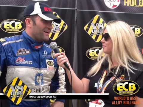 V8 Utes Round 7 Gold Coast interview with Gerard Mcleod post race 2