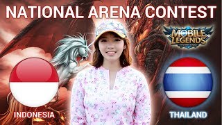 INDONESIA VS THAILAND - National Arena Contest Cast by Kimi Hime - 08/01/2018