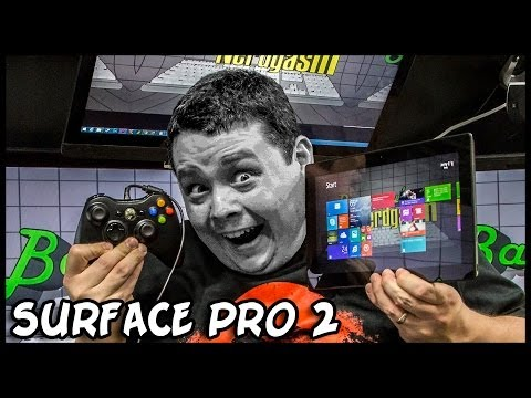 Microsoft Surface Pro 2 Unboxing & Review - Photoshop, Gaming, etc